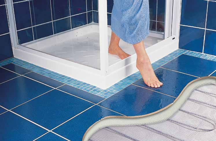 under-tile heating the DTW range Add a touch of luxury to your home by fitting Dimplex under-tile heating perfect for taking the chill off cold tiled floors.