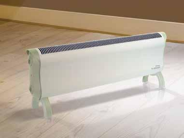 T H R EE Y E A R G UA R A N T EE low level convector heaters the range This stylish range of low level convector heaters has been designed to integrate seemlessly into any surrounding.