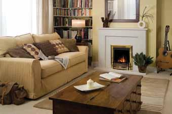 These high quality electric fires are the perfect, modern addition to any living space and are particularly ideal where floor space is limited.