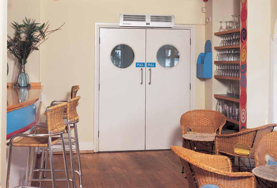 Because they warm the door entrance area, they often allow doors to remain open for longer, promoting increased business, and can equally be used as high-level fan heaters where the need arises.