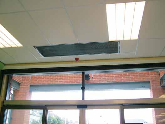 commercial air curtains IMPROvES CRC EES ENERgy PERFORMaNCE SuRFaCE and RECESSED FOR 1, 1.