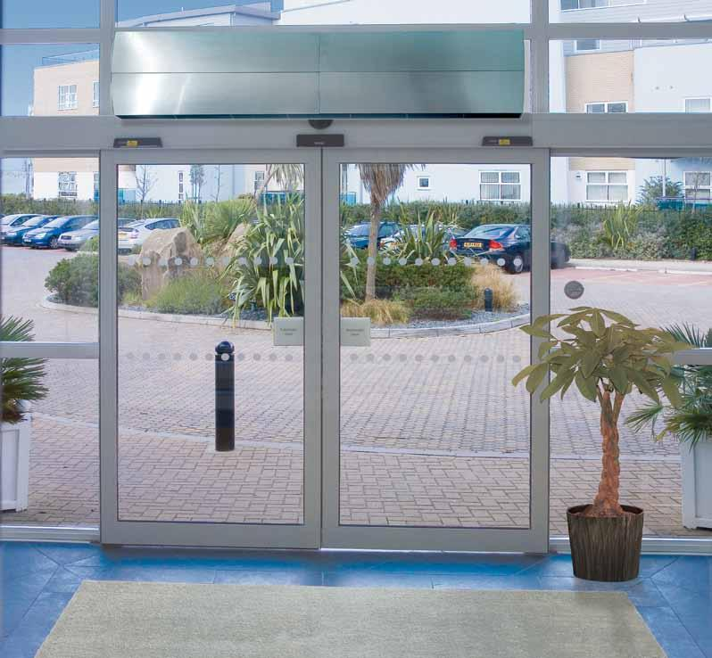 architectural air curtains the arc range Designed to be at home in the most prestigious corporate entrances and reception areas, the new Dimplex ARC range of architectural air curtains suits the most