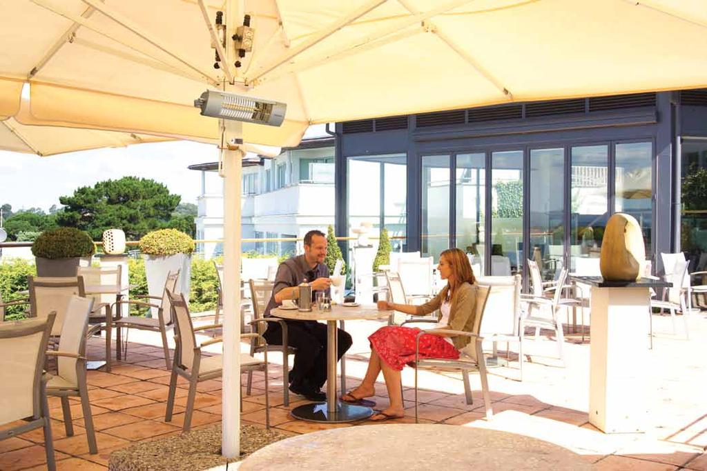 outdoor patio heaters the OPH range With a high quality aluminium case and a choice of outputs, these new patio heaters provide long lasting performance with an attractive modern design, perfect for