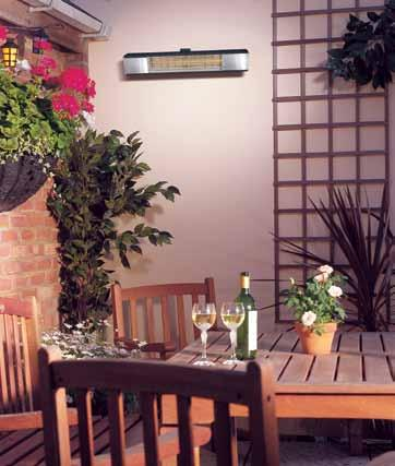 compact outdoor heaters the CPH range Offering slimline dimensions and quick installation via a single adjustable fixing point, the CPH outdoor heaters are perfect in a range of different outdoor