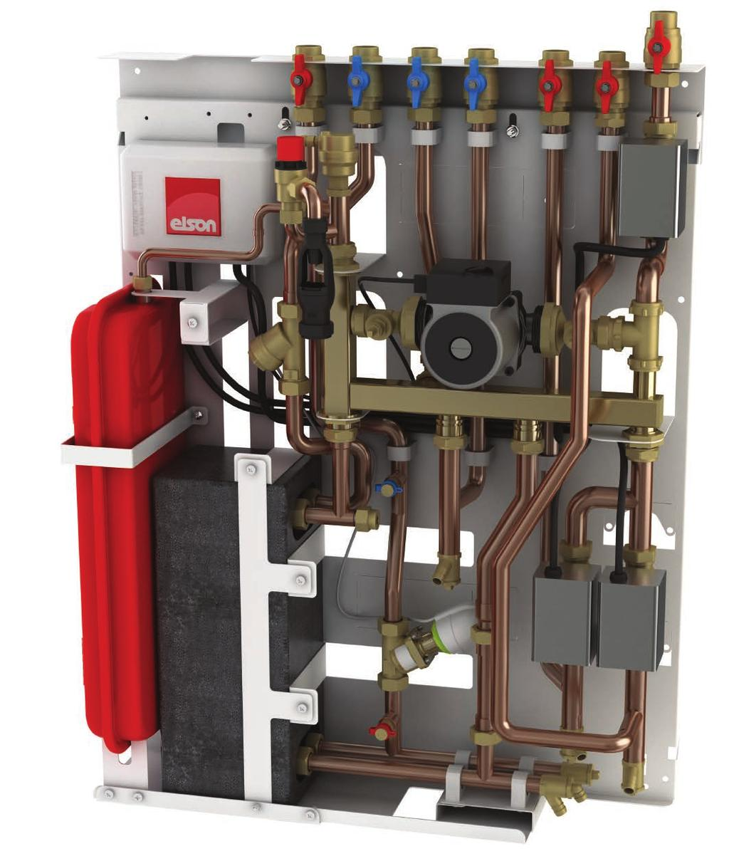 Stored Water District Heating Interface Units Product features 12 1 3 4 8 7 2 13 14 5