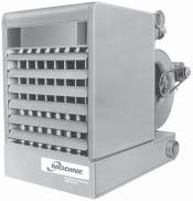 GAS-FIRED, SEPARATED-COMBUSTION, HIGH-EFFICIENCY UNIT HEATERS 80% Seasonal Efficiency 82% Thermal Efficiency Horizontal or Vertical Venting 20%+ Fuel Savings Versus Gravity-Vented Products 100%