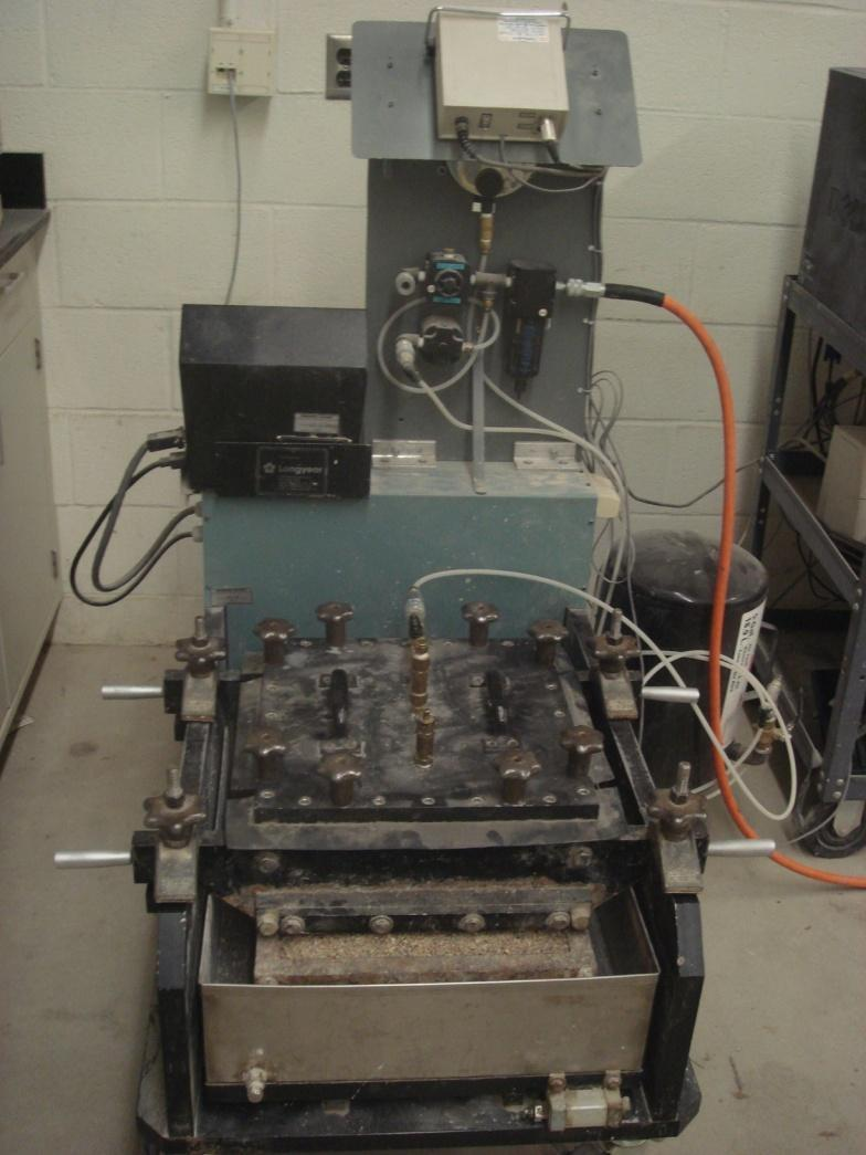 Interface Shear Test Geosynthetic n Block or soil Soil ASTM