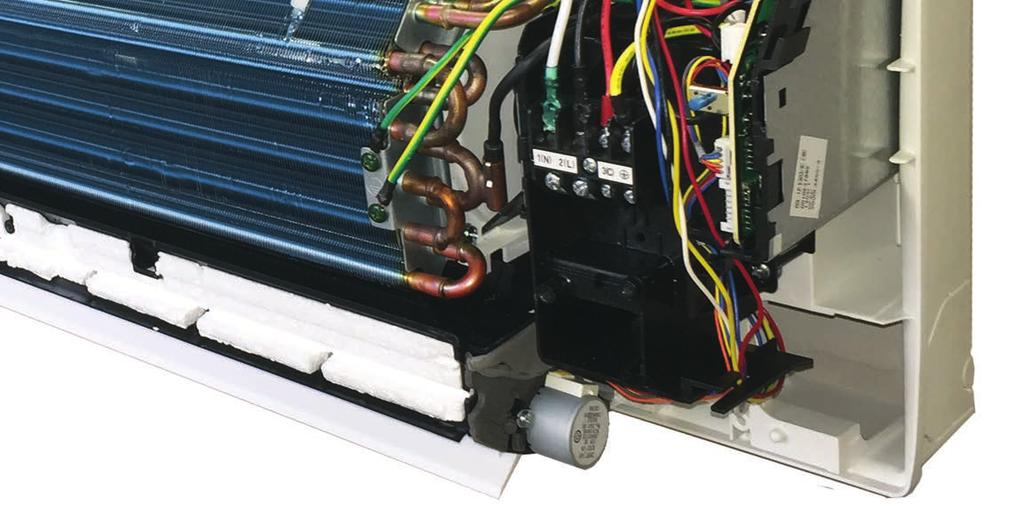 Field installed/supplied condensate pump accessories can be added to these systems.