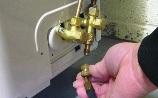 Failure to follow recommended safe leak test procedures could result In death or serious injury or equipment or property damage.
