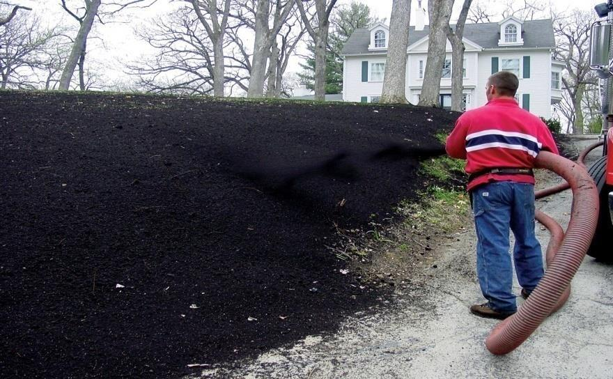 Compost Blankets Mixed with/without seed and do not incorporate Provides excellent water holding