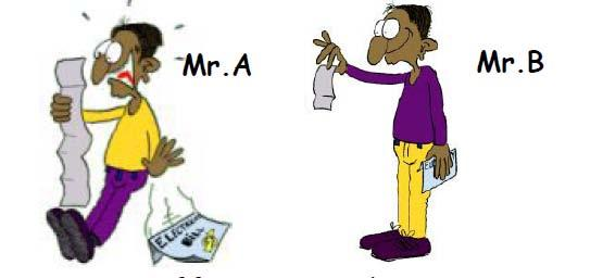 Name: Class: Date: Grade 11A Science Related Reading/Physics Energy Conservation Physical Processes 11A PRE READING TASK Meet Mr.A and Mr.B. They have both received their electricity bill.