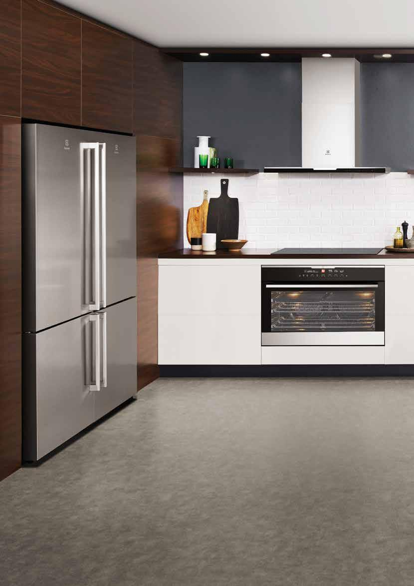 Cooking CombiSteam Discover the Electrolux Life Redefining modern living Life is what you make of it. So why not make it the very best?