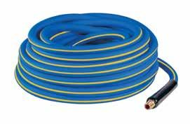 4 708289526760 T-REXFLEX AIR HOSE HA76 SERIES Specially ed PVC air hose. Economical, lightweight, flexible and abrasion resistant. High visibility yellow color.