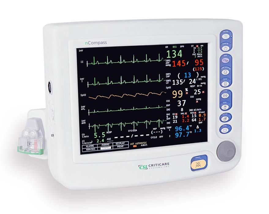 ncompass 8100H Series Vital Signs Monitor Operator s