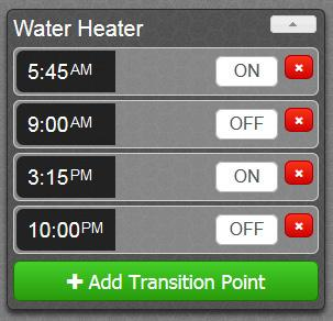 Understanding Your Water Heater Use your online web portal account as the primary means of controlling your water heater.