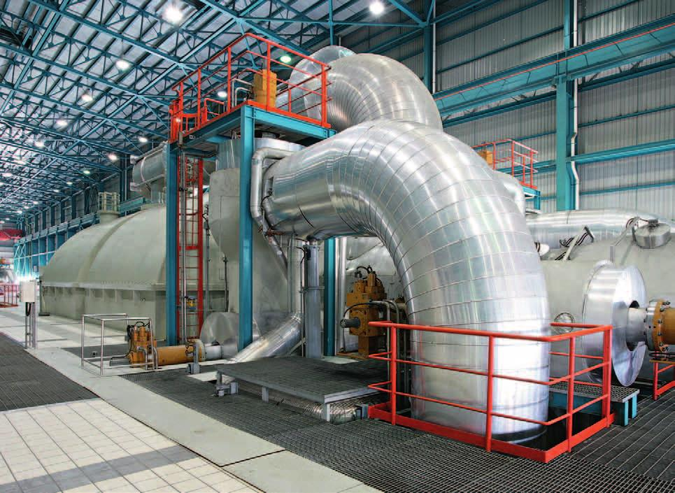 Application examples Cable ducts Cable distribution rooms Conveyor belts Coating systems Paint shops Motor test benches Machine tools