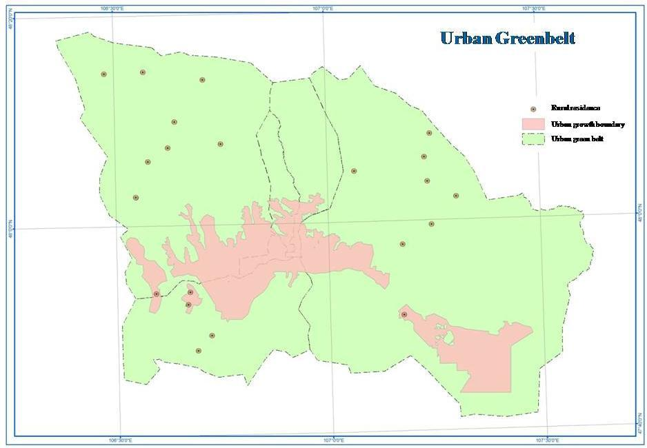 1998 16650 649.8 2014 42391 1282 The first Master Plan of Ulaanbaatar city was produced in 1954 and updated 3 times until 1990s.