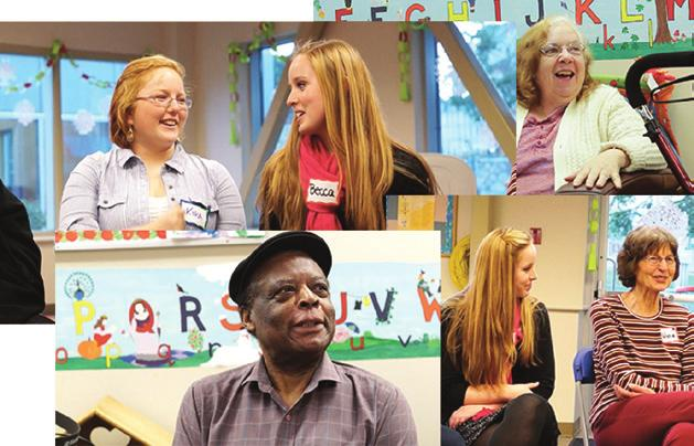 TRUST US is an intergenerational community initiative to bridge the gap between teens and seniors.