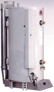 areas where air extract canopies cause problems and difficult flue runs. CSC models have a fan assisted flue.