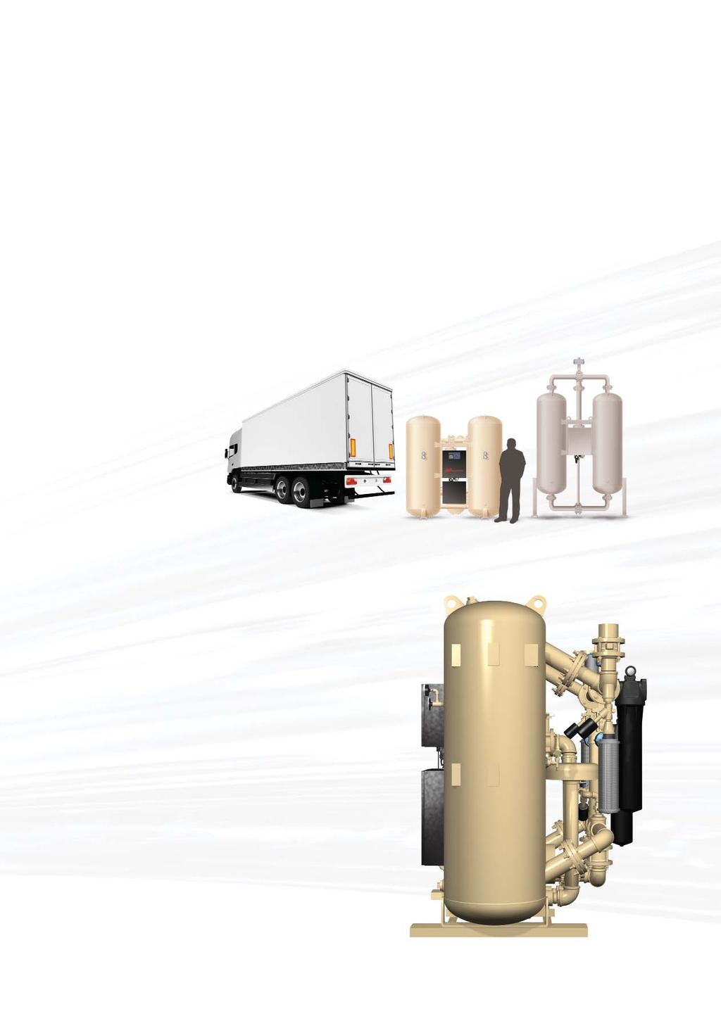Innovative Design is Now Within Reach Ingersoll Rand Ingersoll Rand heatless and heated blower desiccant dryers are engineered for easy access, maximum efficiency and long life are delivered in a