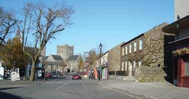 9.4.6 Hinterland Area: Level 3, Tier Sub County Town Centres Athy and Kildare Town Reflecting their key roles as Sub County Town Centres, Athy and Kildare are the sixth and seventh largest towns in
