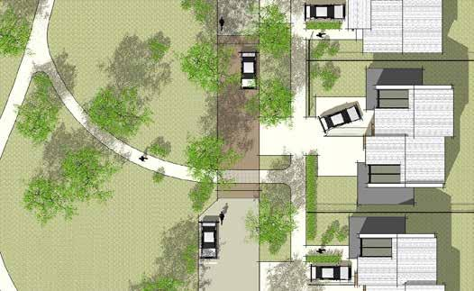 Mews / Shared Surface Streets Shared surface streets may occur where the