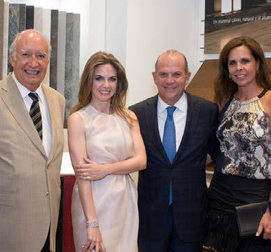 Soriano, along with the ambassador of Spain to Jordan, important professionals from the world of economy and art, and representatives from diplomatic