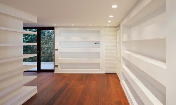 In harmony with their philosophy of respect for the natural environment, part of the house the garage and auxiliary areas is underground, and the natural