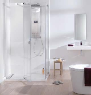 Its stainless steel fittings, quality materials and details, such as the natural leather handle, give the ATTICA shower an aesthetic quality of subtle and practical excellence.