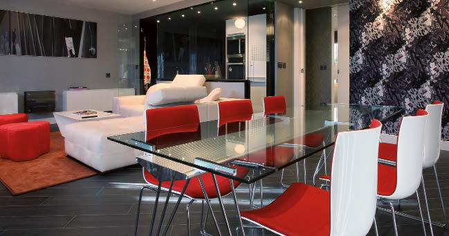 Our goal is to make you feel like you are away from home, and via our design and interior decoration approach we have intentionally highlighted the hotel s singular and privileged urban location,