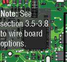 . es - Communication Line HARDwiring s can be connected to Relay /Wiegand. If more than s are desired, see next page.