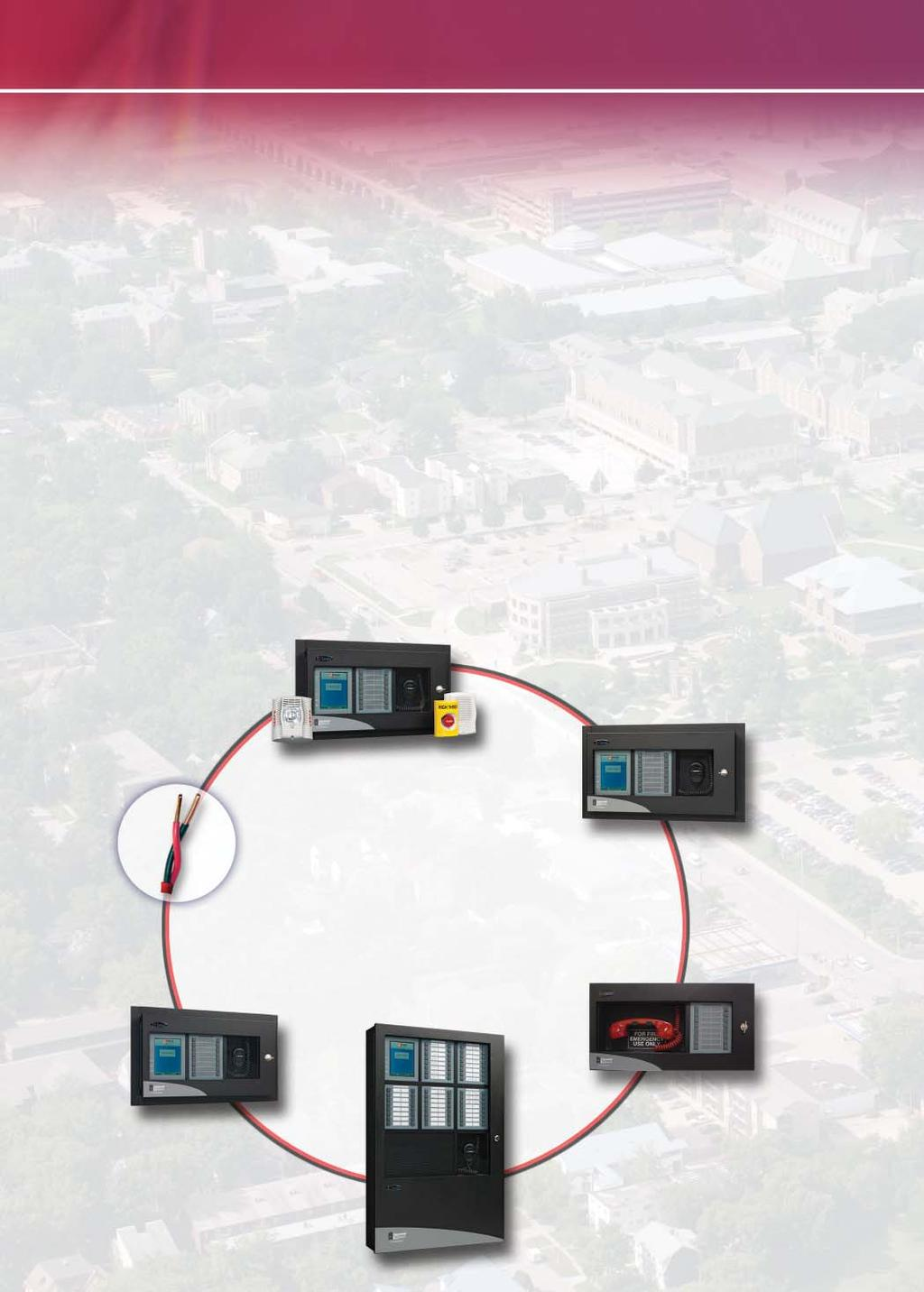 Reliability and Survivability Outperform the Rest The strength of the E3 Series, Expandable Emergency Evacuation system is its ability to communicate real-time information that directs people to take