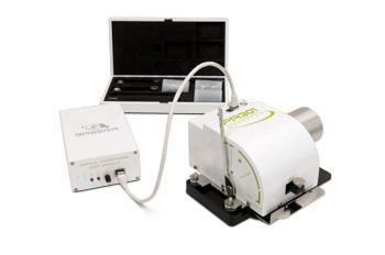 NDIR-PAS: Uses electrically pulsed IR source and 10 optical filters (no chopper) PA201! Research PAS cell!