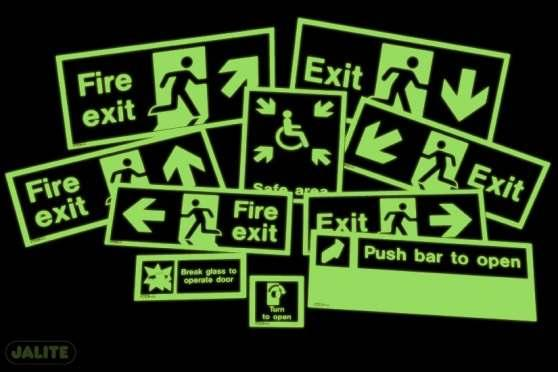 K GM FI R E & S EC U R I TY DI S TR I BU TI O N Emergency Signs Fire and safety signs are essential to give clear visual guidance to employees, site visitors and the general public.