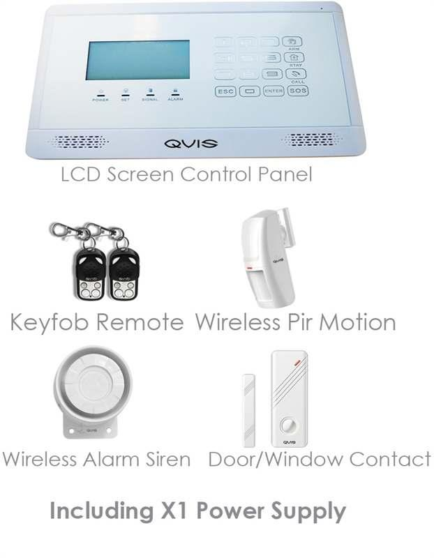K GM FI R E & S EC U R I TY DI S TR I BU TI O N Intruder Alarm Systems QVIS have been involved with the development of intruder and access control products for some years and we now supplying