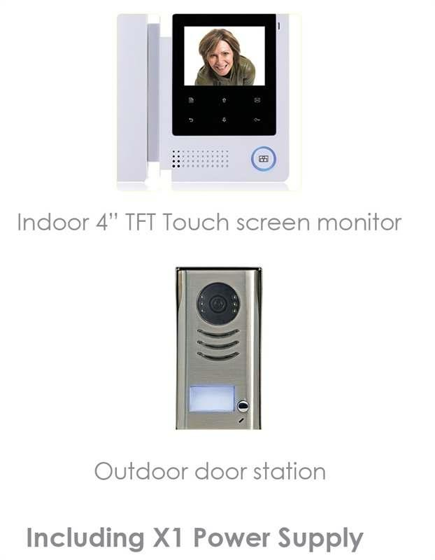 00 Kit includes 1 x LCD screen, 2 x keyfob remote controllers, 1 x PIR motion detector, 1 x siren, 1 x door/window contact, 1 x PSU PIR DETECTOR-1 QVIS PIR Motion Detector 22.
