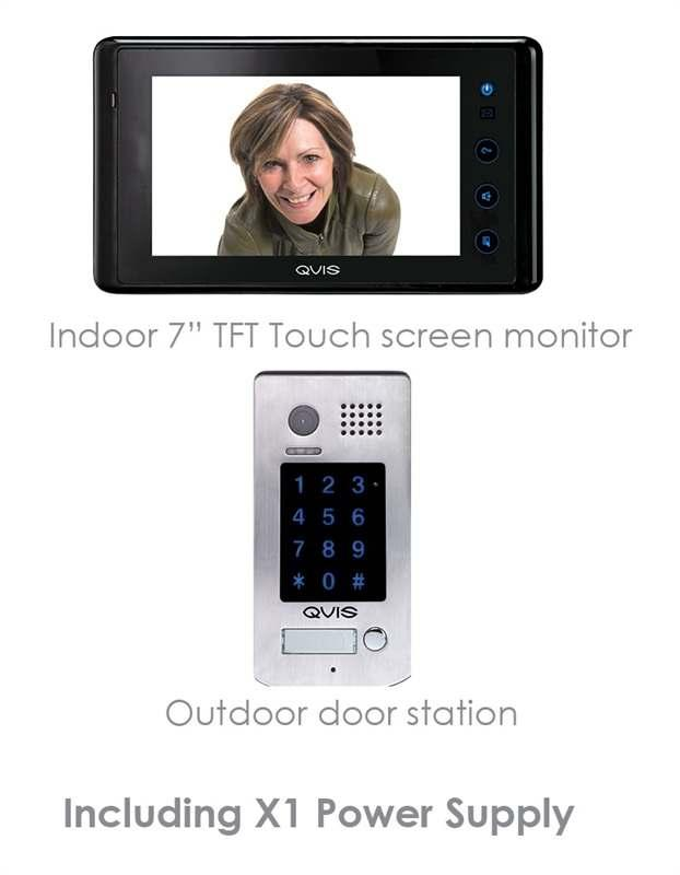 00 KIT-2 QVIS Hardwired video door intercom Kit 7 colour display 484.40 ACS-001 QVIS Biometric facial and fingerprint terminal 291.20 ACS-002 QVIS Biometric facial, fingerprint & PIN terminal 518.