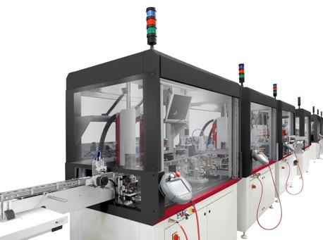 Examples of customized automated machines High precision