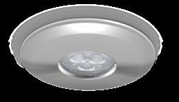 CLASSIFICATION Class 1 IP20 240V Hybrid7 Overbezel Interchangeable retrofit LED module NEW PRODUCT LED 5 year Extended warranty* Dimmable As standard 3000K 4000K Warm