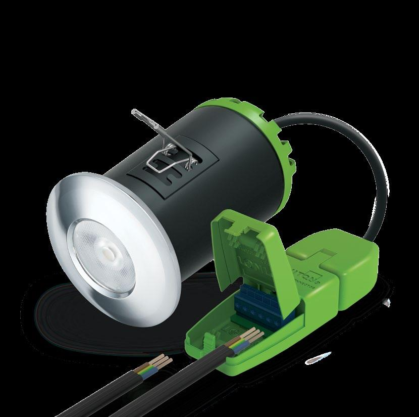 Hybrid9 The interchangeable integrated LED downlight EFFICIENT 8.