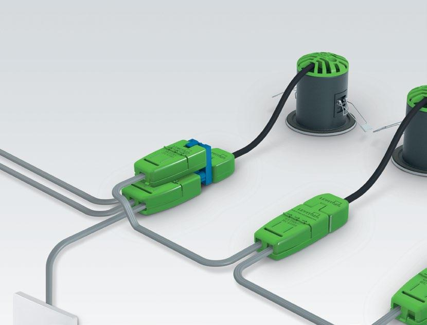 solid and stranded cables 9-Way and T-Splitter to incorporate switch