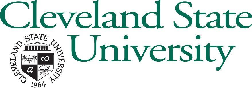 Emergency Notification Plan Developed By: Cleveland State University