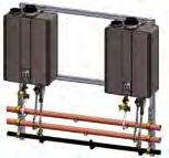 Tankless Rack Systems - Wall Mount (Condensing) The Rinnai Tankless Rack System is designed supply a packaged water heating solution as a fully-assembled system.