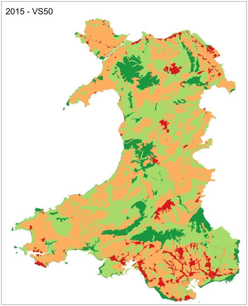 LANDMAP evaluation All of Wales is evaluated from a local to a national scale of landscape importance.