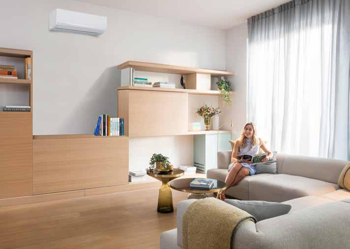 Why choose Daikin s Sensira R-32 Efficiency Sensira R-32 creates a comfortable interior environment while maintaining excellent energy efficiency ratings.
