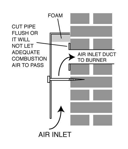 by Heating World Ltd. It is essential that a fire valve is fitted in the oil line to the burner so that, in the unlikely event of fire the oil supply is isolated. 10.8 Baffles Fig 86 Fig 84 10.