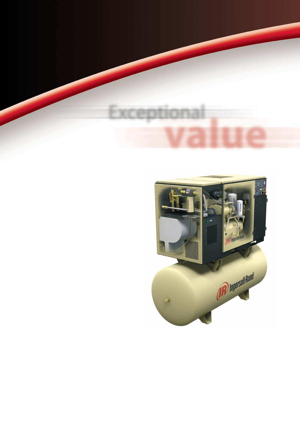 Rotary Screw Compressors UP5 Series 11-37 kw Ultimate Reliability Maximum Uptime Ingersoll-Rand is so confident in the performance of the UP-Series, that we ve extended the warranty to 5 years.