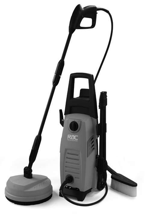 1300W Pressure Washer RACHP133A Waste electrical products should not be disposed of with household waste.