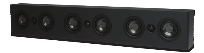 New Loudspeakers GSB3 TV Sound Bar Passive soundbar for use with 7.1 and 5.1 home theater receivers.