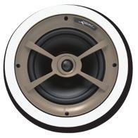 "Ceiling Speakers C850 One pair of ceiling speakers with 8"" Kevlar woofers, cast magnesium woofer baskets, 1"" pivoting aluminum dome tweeters, ±3dB bass & treble contour switches and 175 watt power"